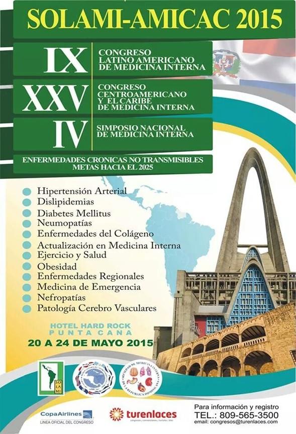 Congreso SOLAMI – AMICAC 2015